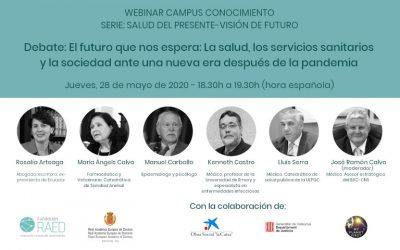 Webinar: «El futuro que nos espera: La salud, los servicios sanitarios y la sociedad ante una nueva era después de la pandemia»
