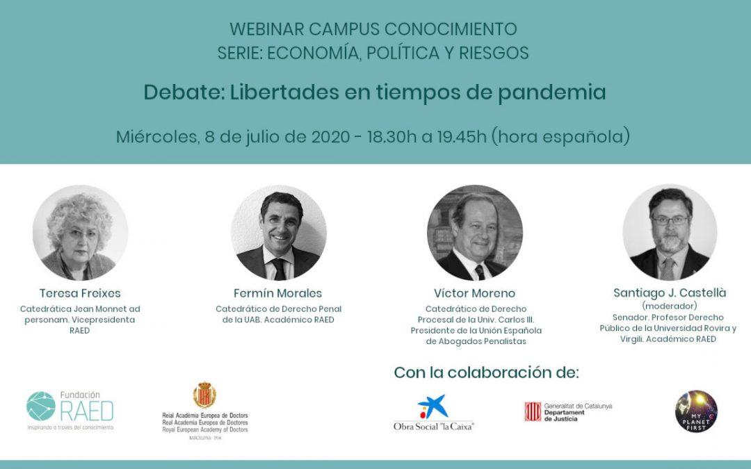 Webinar: Libertades en tiempos de pandemia