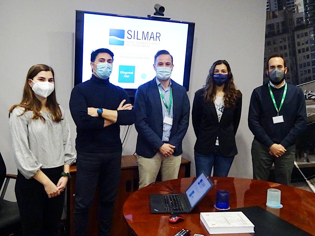 Presentación del Informe SILMAR Mar Bella en el Centro Comercial Diagonal Mar